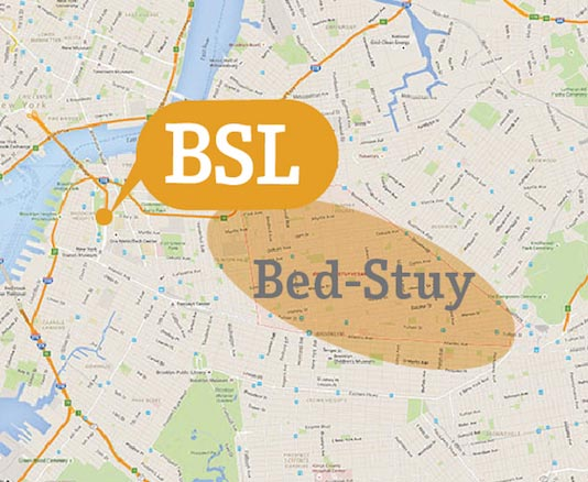 Accommodation Map Bed Stuy