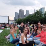 Outdoor Movie in Brooklyn Bridge Park
