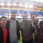 Soccer game at the Red Bull Arena in New Jersey