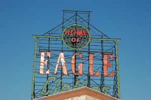 Iconic sign - Eagle clothes, Gowanus