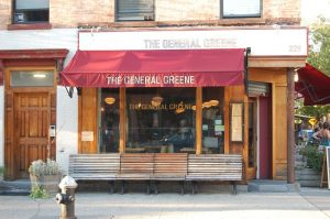 The General Greene, Fort Greene