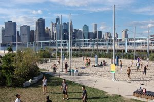 Pier 6 Beach volleyball park