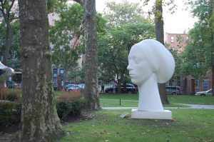 Sculpture, Pratt Institute, Clinton Hill