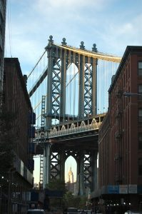 Brooklyn Bridge, from Dumbo